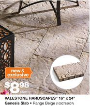valestone hardscapes 16 x 24 genesis slab from home on home depot paint sales this week id=27350