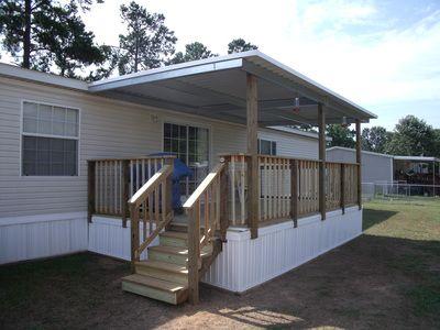 Mobile Homes Mobile Home Porch Mobile Home Deck Decks And Porches