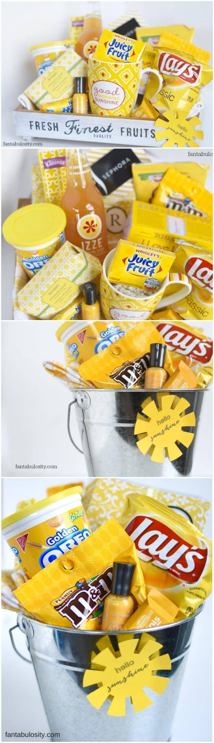 70 Inexpensive DIY Gift Basket Ideas DIY Gifts Page 4 of 14 DIY & Crafts #Gif…