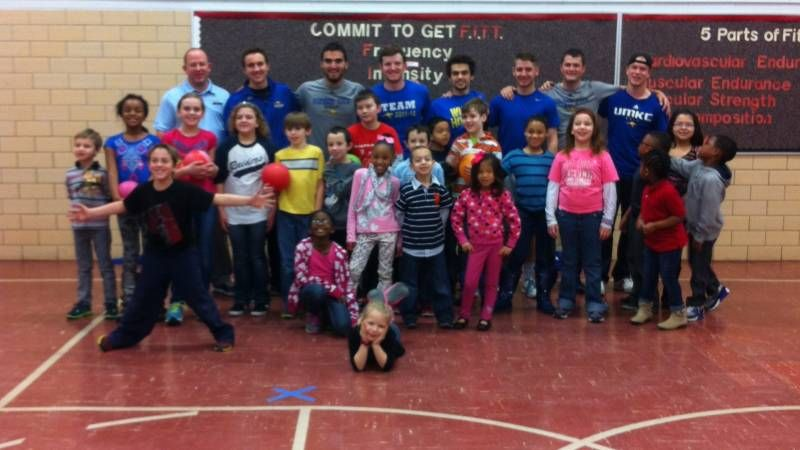 Men's Golf Engages with Local YMCA Youth Ymca