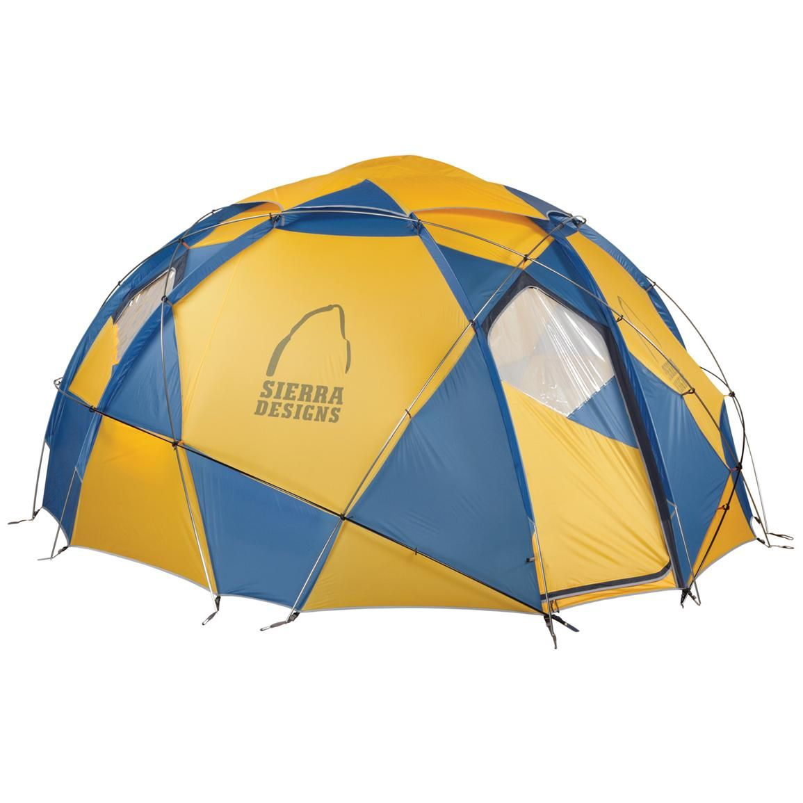 Sierra Designs® Grand Mothership 12 Four-Season Tent  sc 1 st  Pinterest : sierra designs stretch dome tent - memphite.com