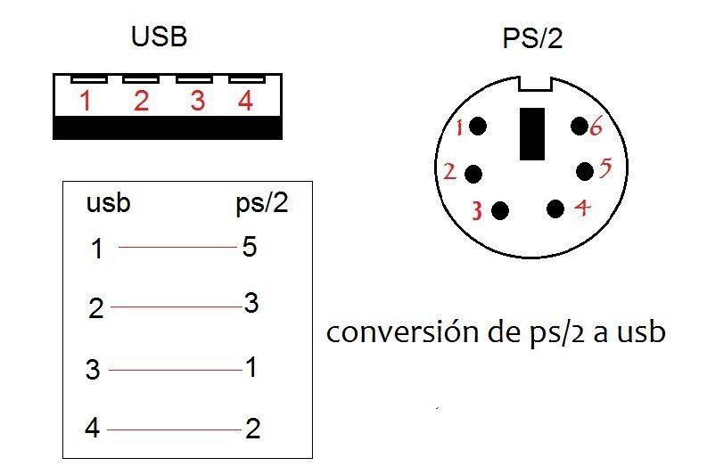 Convertir Usb A Ps 2 Electronics Projects Arduino Usb