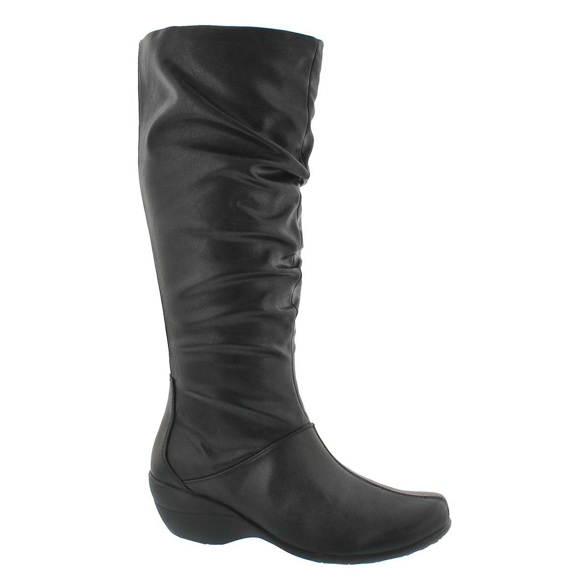 Lds Iva Kana IIV blk tall boot Boots, Dress with boots