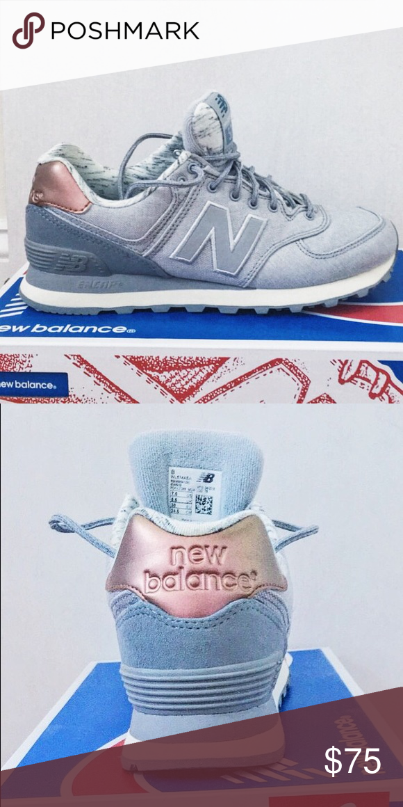 Rose Rarely Very Comfortable GoldLight Grey New Balance 574 K1TJlFc3