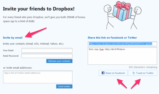 Dropbox's Referral Program – How They Got 4 Million Users In