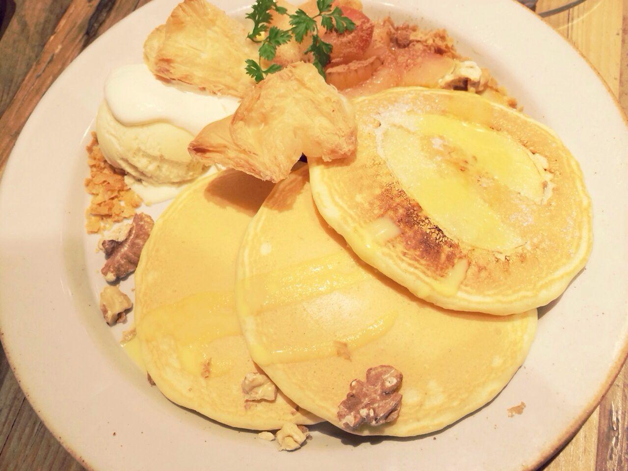 j s pancake アップルシナモン シナモン