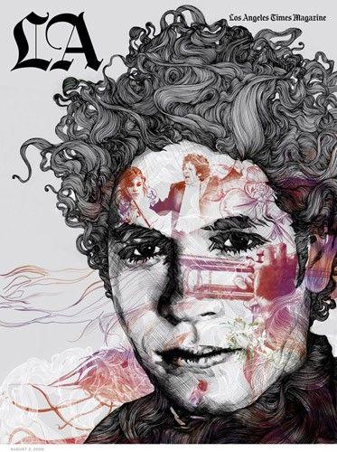 Необычные рисунки художника Gabriel Moreno (42 картинки ...