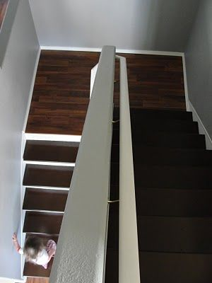 DIY Stairs   Canu0027t Stand My Carpet...this Would Be A