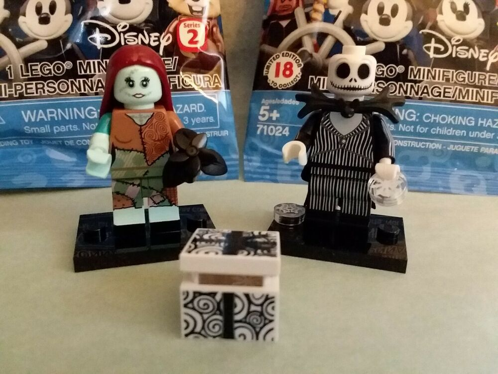 LEGO DISNEY MINIFIGUREs SERIES 71024 JACK SKELLINGTON /& SALLY SEALED NEW