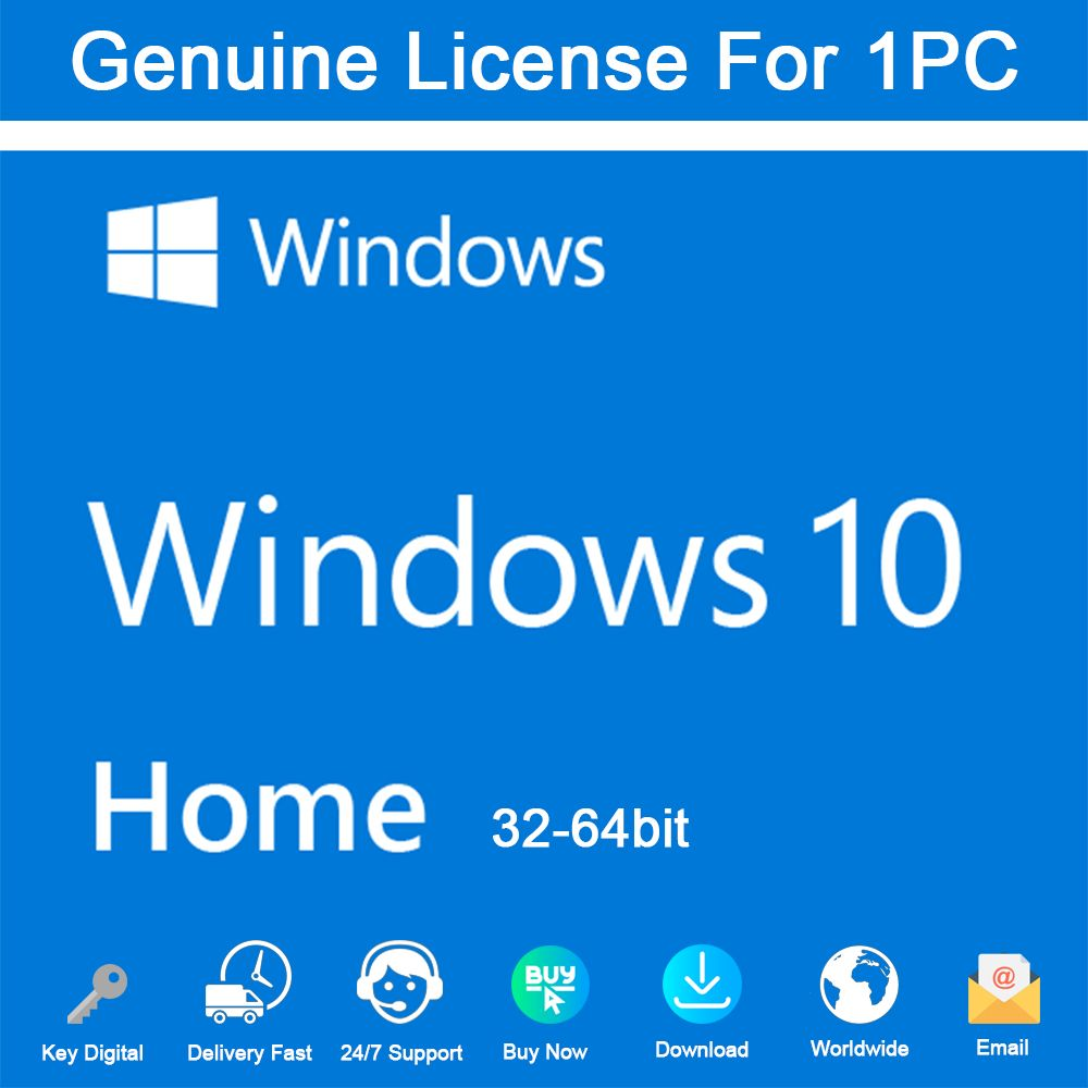 Software 18793 Windows 10 Home 32 64 Bit License Key Activation Genuine Buy It Now Only 10 2 On Ebay Software Windows 10 Linux Mint Computer Technology