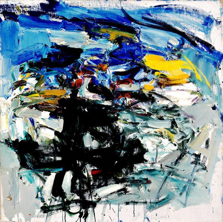 Joan Mitchell, Untitled, 1960 | Milwaukee Art Museum | Abstract ...