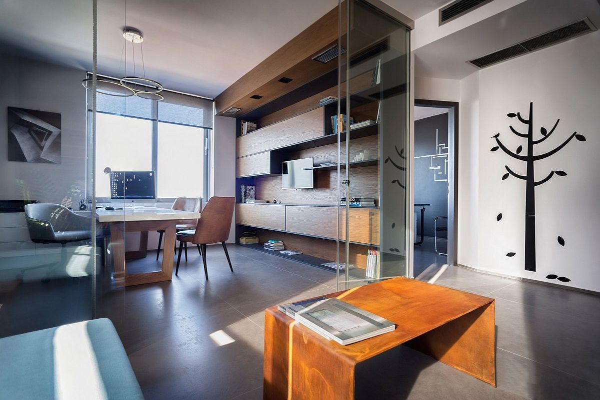 Breezy Elegance Small Architectural Office With A View Of The