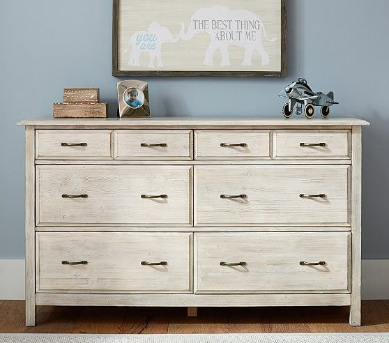 $1099 Rory Extra Wide Dresser | Pottery Barn Kids
