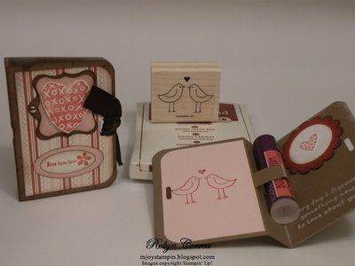 Lip Gloss Holders | {PaperCrafting} Boxes, Envelopes and ...