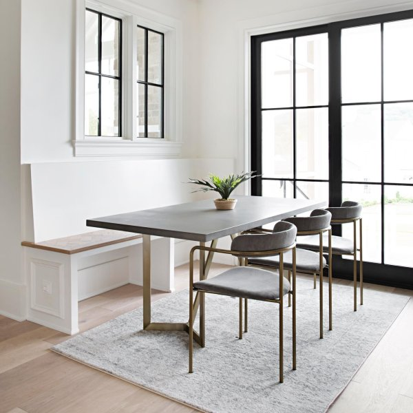Tower Dining Table Concrete Concrete Dining Table Dining