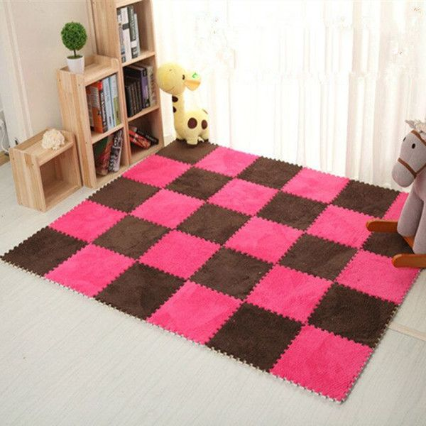 Warm Living Room Floor Mat Cover Carpets Floor Rug Soft Area Rug ...