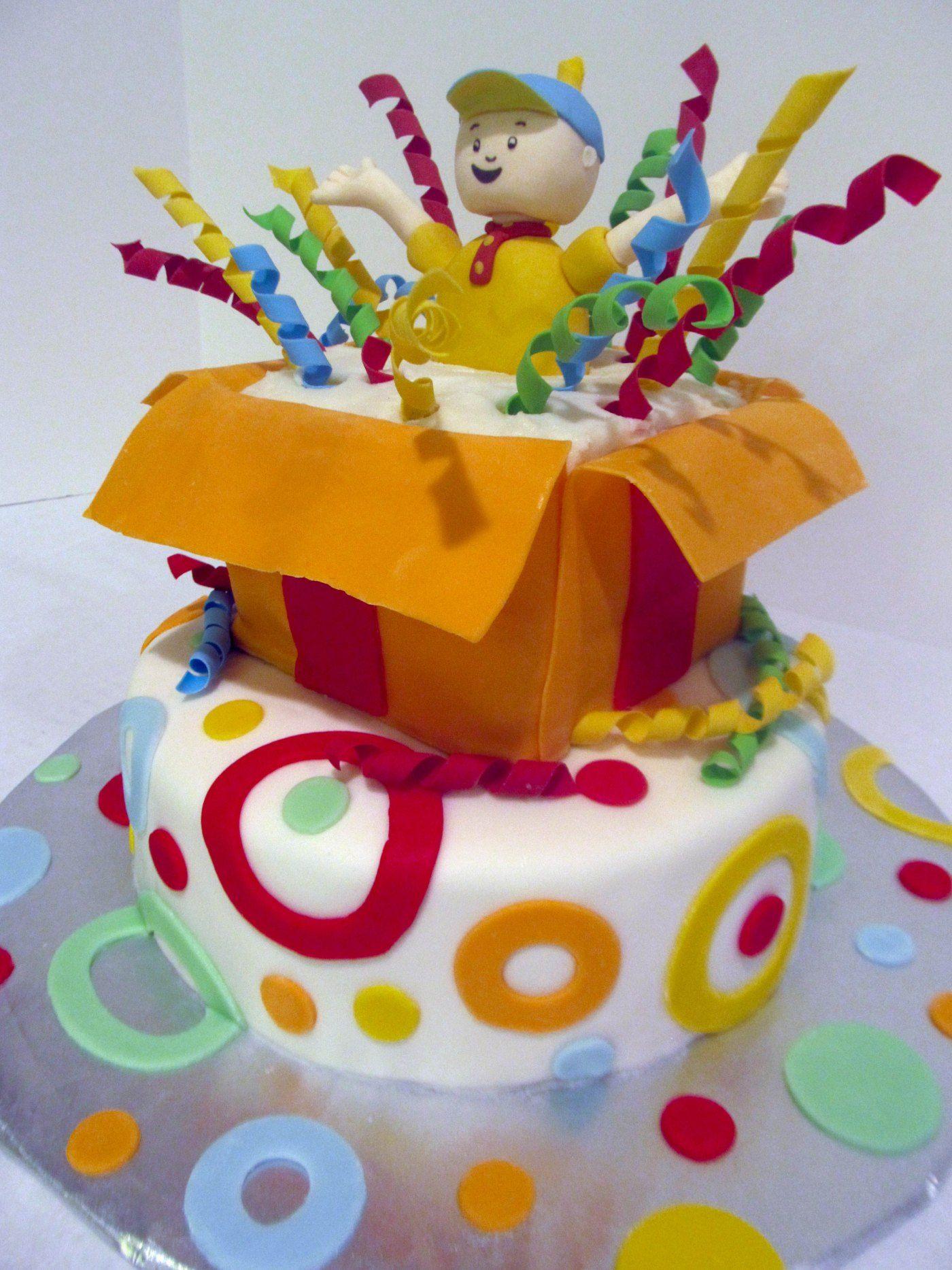 Caillou Birthday Cake Birthday Cakes Pinterest Birthday