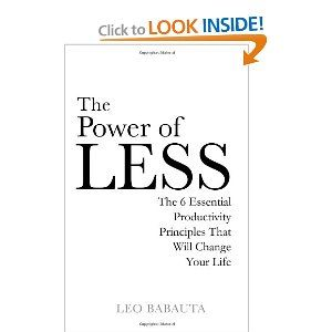 The First Book From The World S Best Productivity Blogger Leo Babauta From Zenhabits Net Book Worth Reading Leadership Books Music Book
