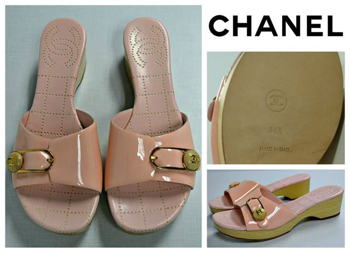 FLIP's Pick of the Day: Chanel shoes (6.5) - $148.98!  Stop by to see these great shoes, plus many more, today & only @ FLIP!!