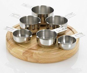 Amazon.com: Bellemain Stainless Steel Measuring Cup Set, 6 Piece: Kitchen & Dining