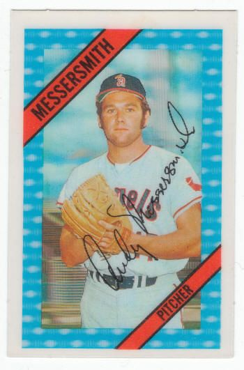 1972 Kelloggs Corn Flakes 3 D Baseball Card Andy
