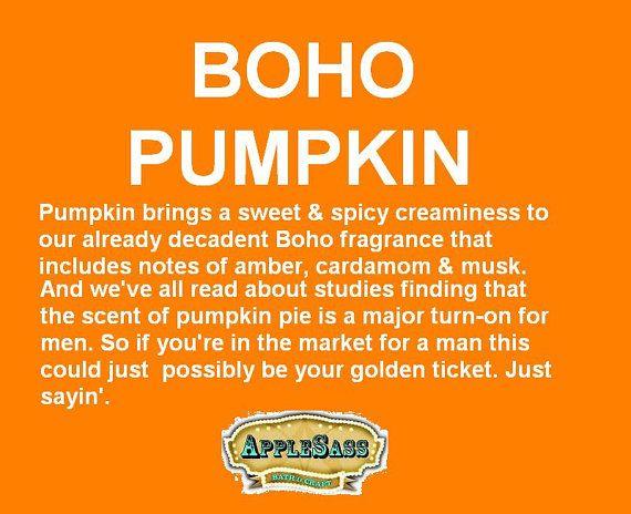 Boho Pumpkin Rollerball Perfume by Applesass on Ets