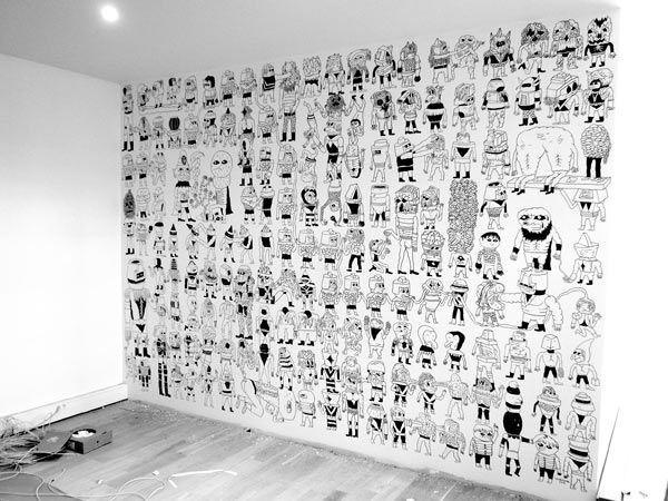 wall drawing - Google Search