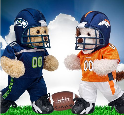 Gear Up Your Bears With Super Bowl Xlviii Game Day Attire Build A Bear Bear Toy Collection