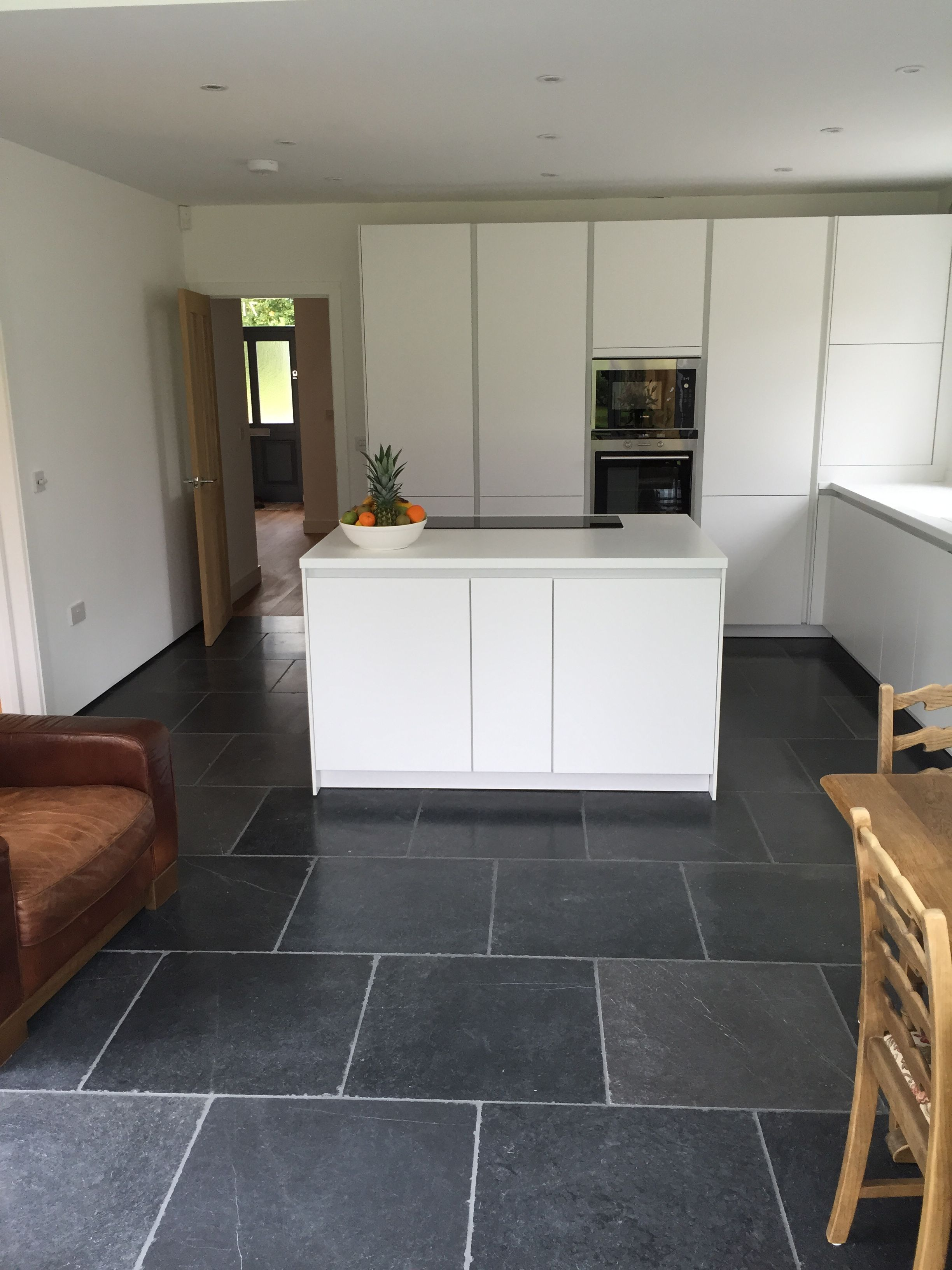 Aged Blue Kitchen Flagstones, These Tiles Are Suitable For Inside And  Outside Projects. Sealer