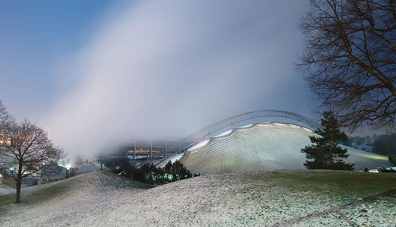 Architekturfotografie München olympiastadion münchen deutschland architekt günther behnisch