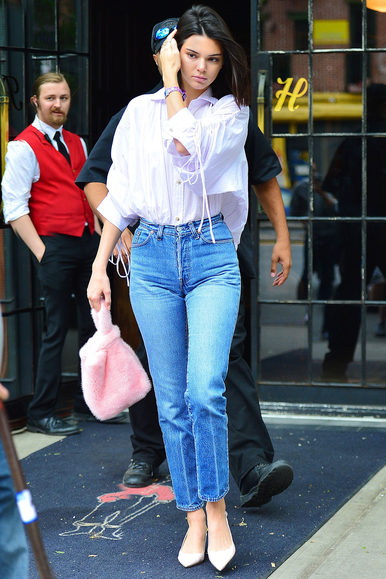 Kendall Jenner Wore the Craziest Bike Ride Look in NYC  93c97c41ae74