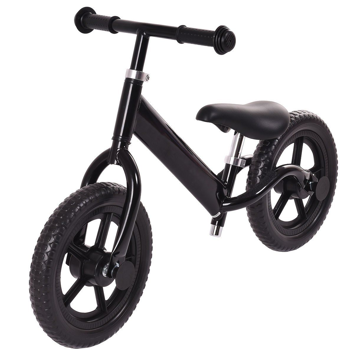Costzon 12 Classic Nopedal Balance Bike Walking Bicycle For Kids Age 27 W Adjustable Seat Black Want To Know More Balance Bike Kids Bicycle Walking Bicycle