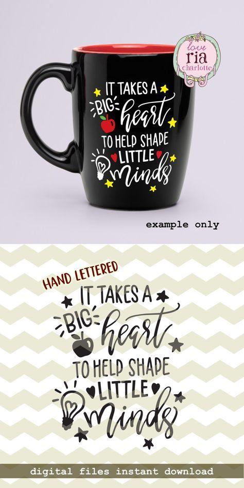 It Takes A Big Heart To Help Shape Little Minds Teachers Day Etsy Teachers Day Gifts Teachers Day Teachers Day Card