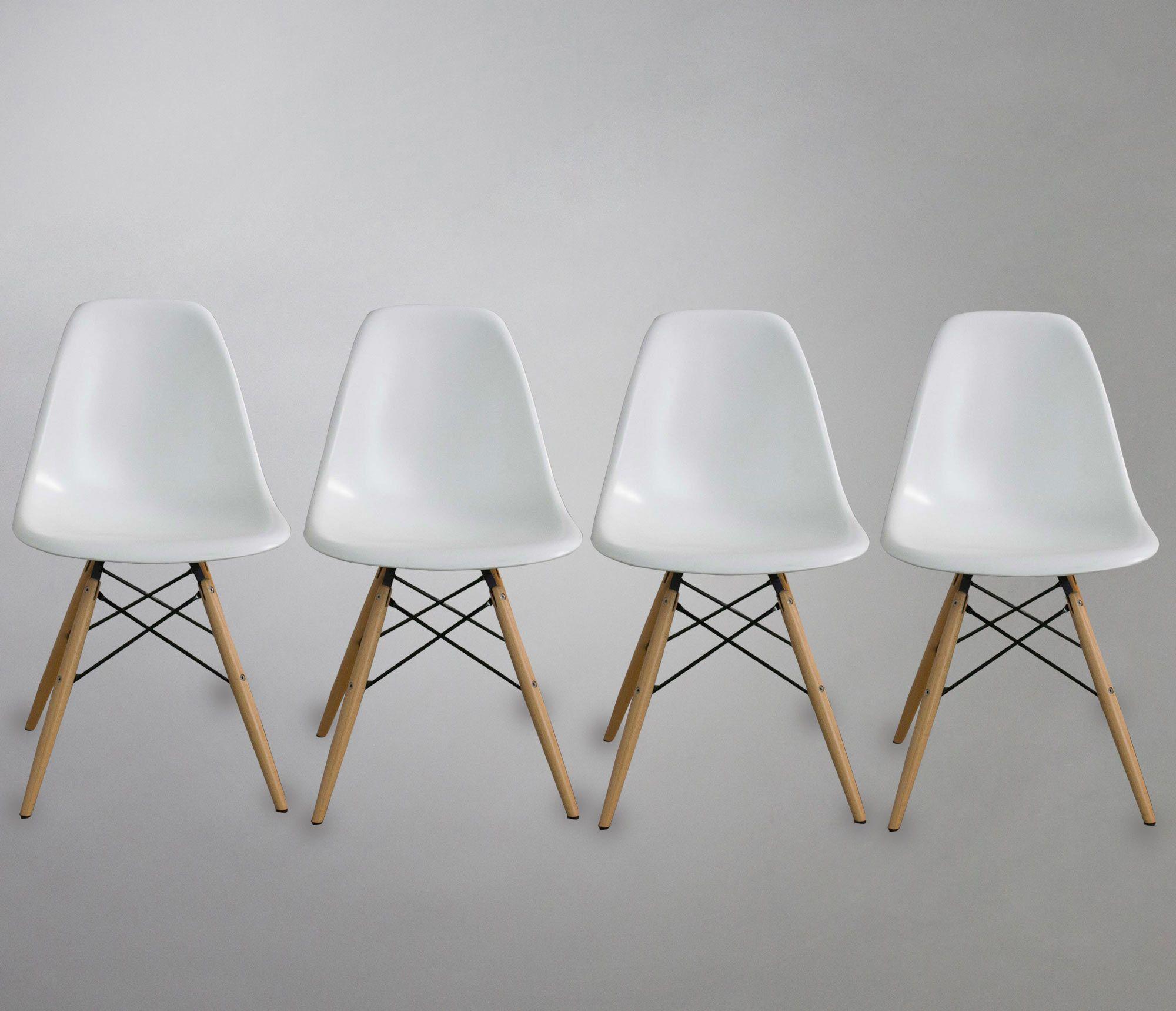 Set de 4 Sillas Replica Eames | Home&House | Pinterest | Eames ...