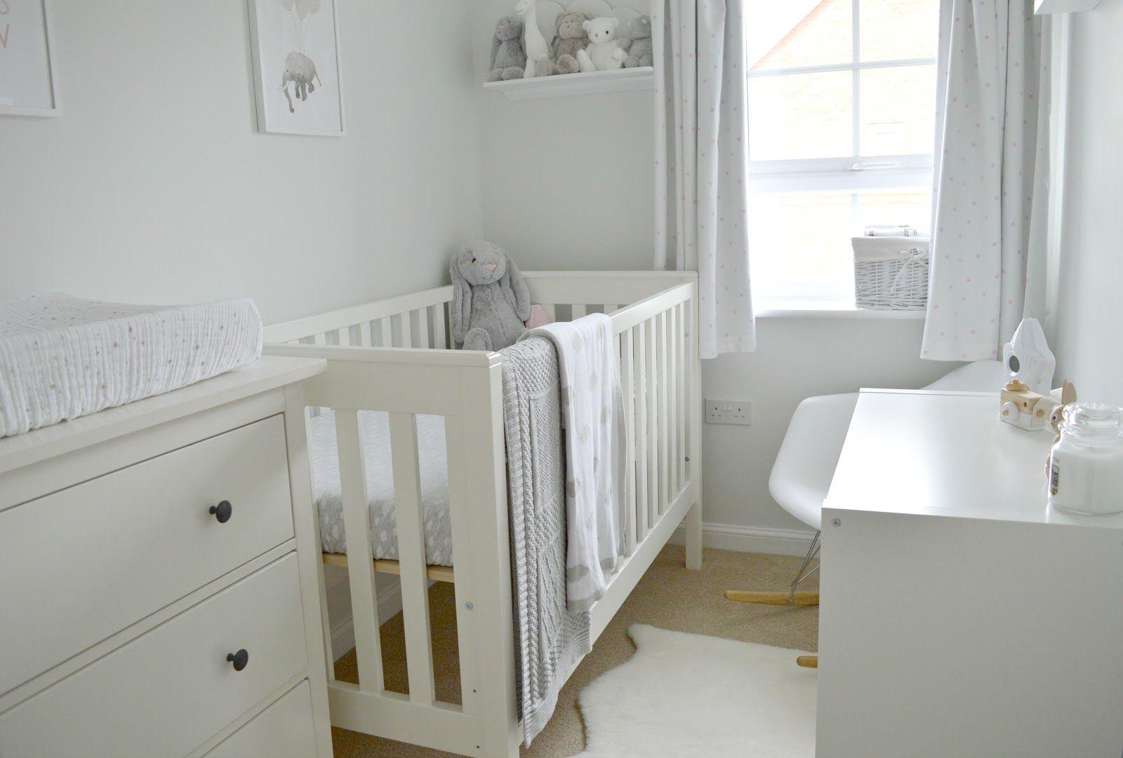 Baby Girl Nursery Tour  Small room nursery, Small baby room, Baby