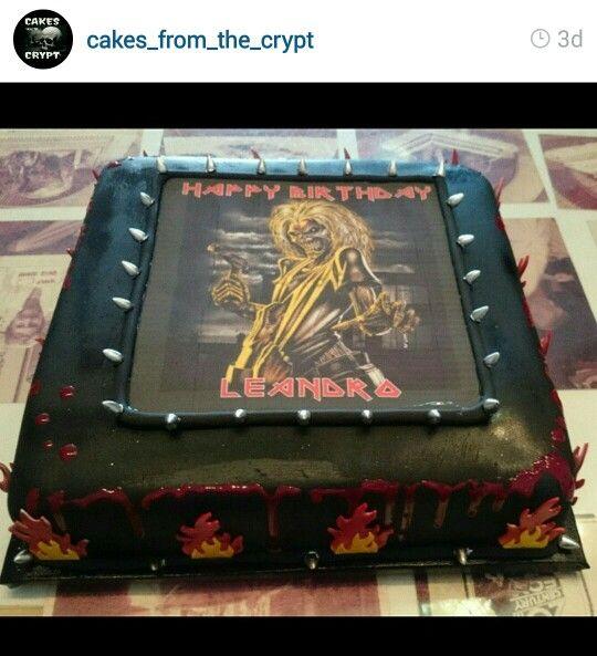Iron Maiden Cake Cupcake Cakes Baby Cake No Bake Treats