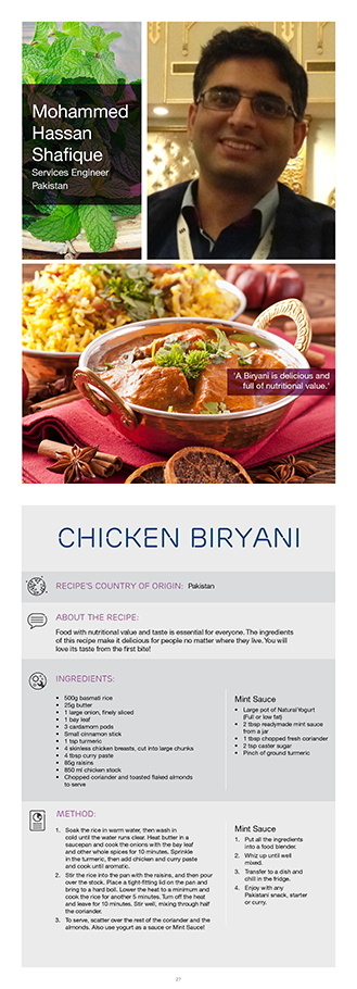Ericssons mohammed h shares his chicken biryani recipeyou too can food forumfinder Image collections