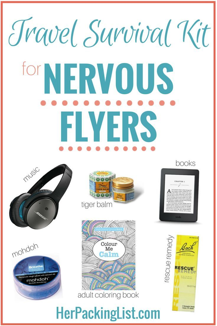 Carry On Packing Essentials For Nervous Flyers