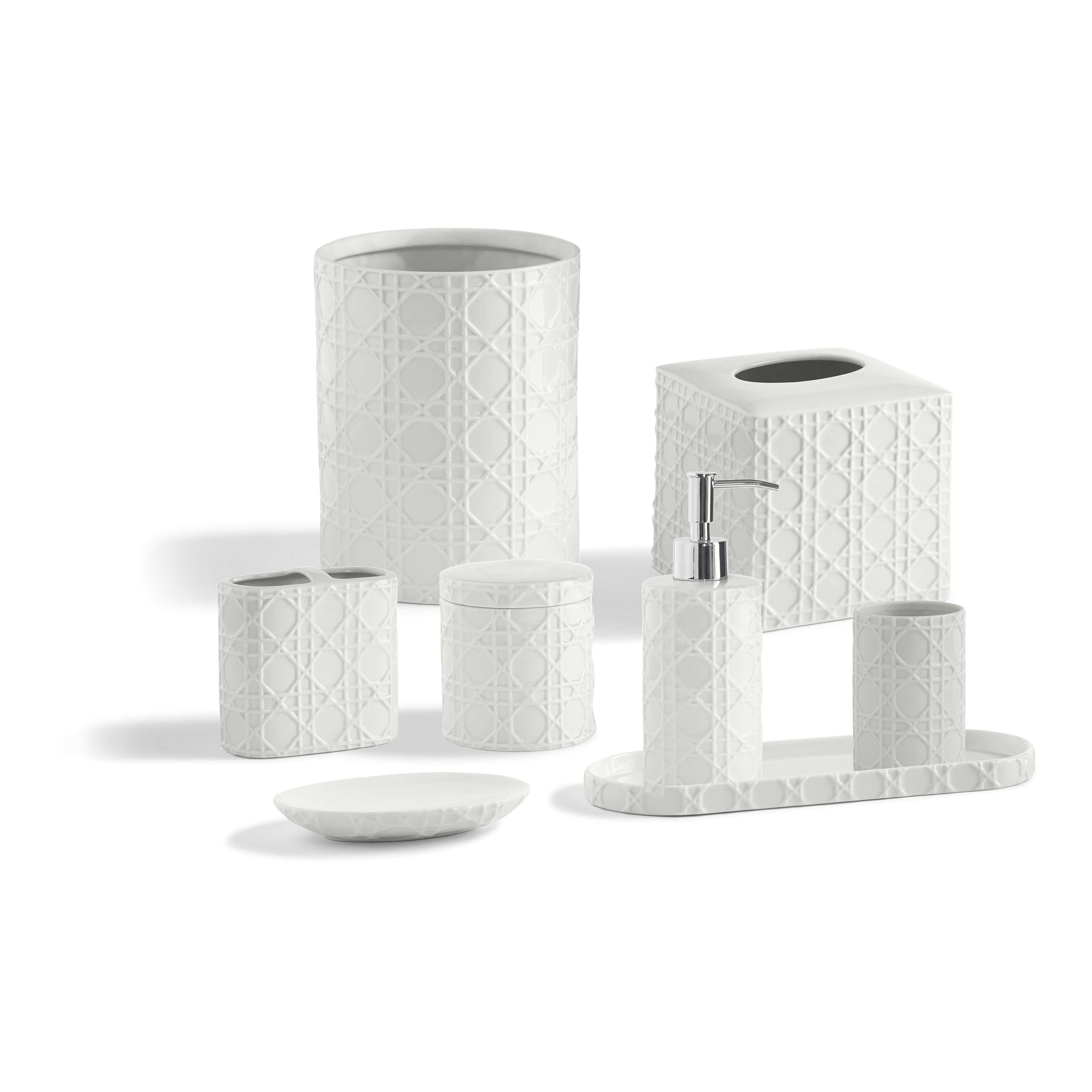 Palm Bathroom Accessory Collection | Products | Pinterest | Bathroom ...