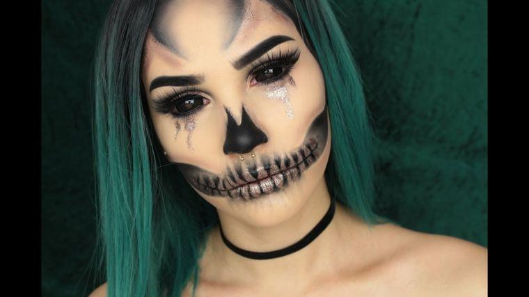 maquillage pour halloween pour faire peur tout en restant belle fantasy makeup halloween. Black Bedroom Furniture Sets. Home Design Ideas