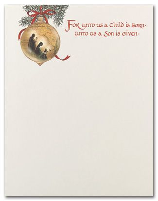 Another use for our religious scripture inspired stationery is for - microsoft word santa letter template