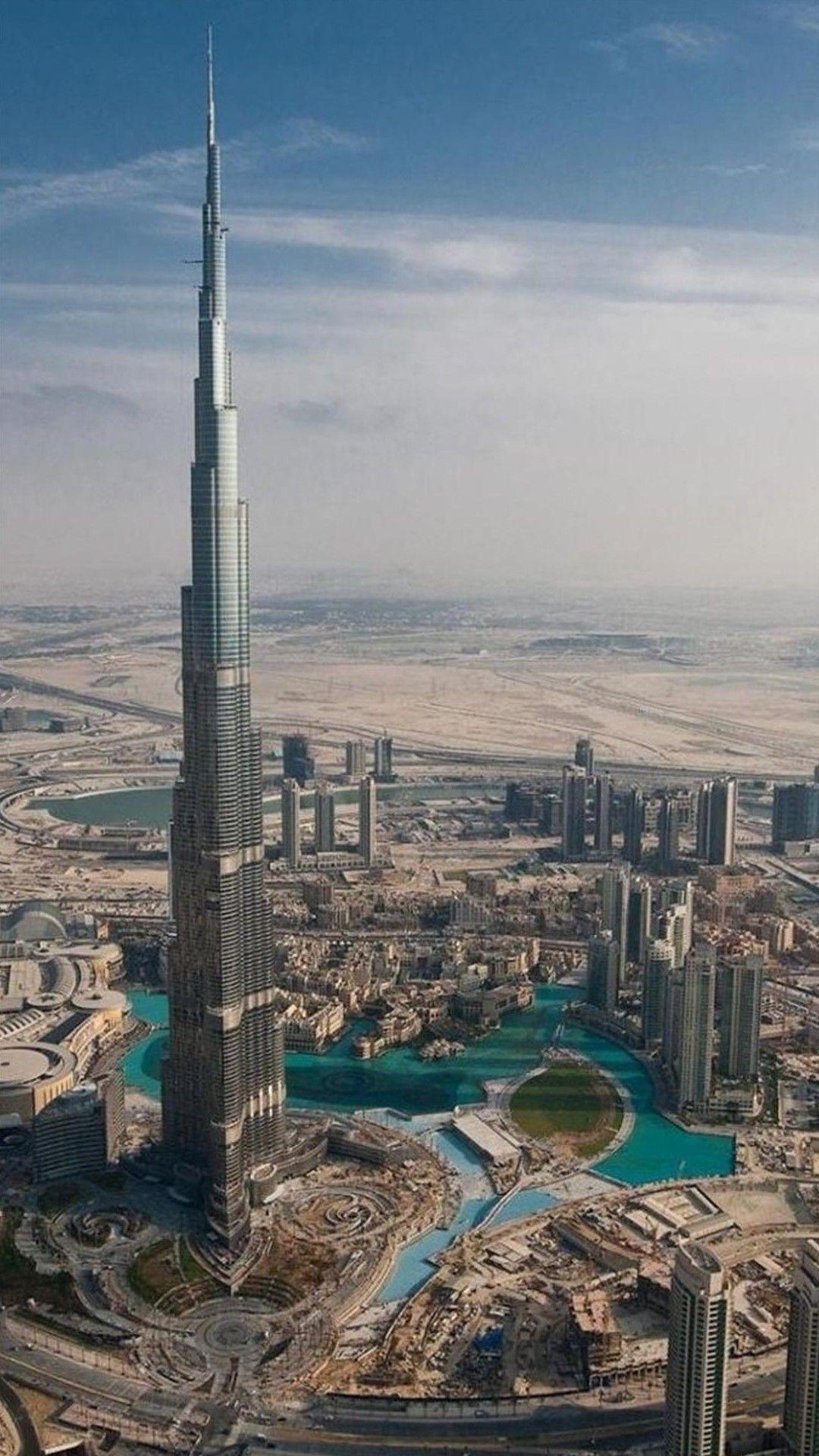 60 most downloaded architecture iphone wallpapers fondos - Dubai burj khalifa hd wallpaper ...