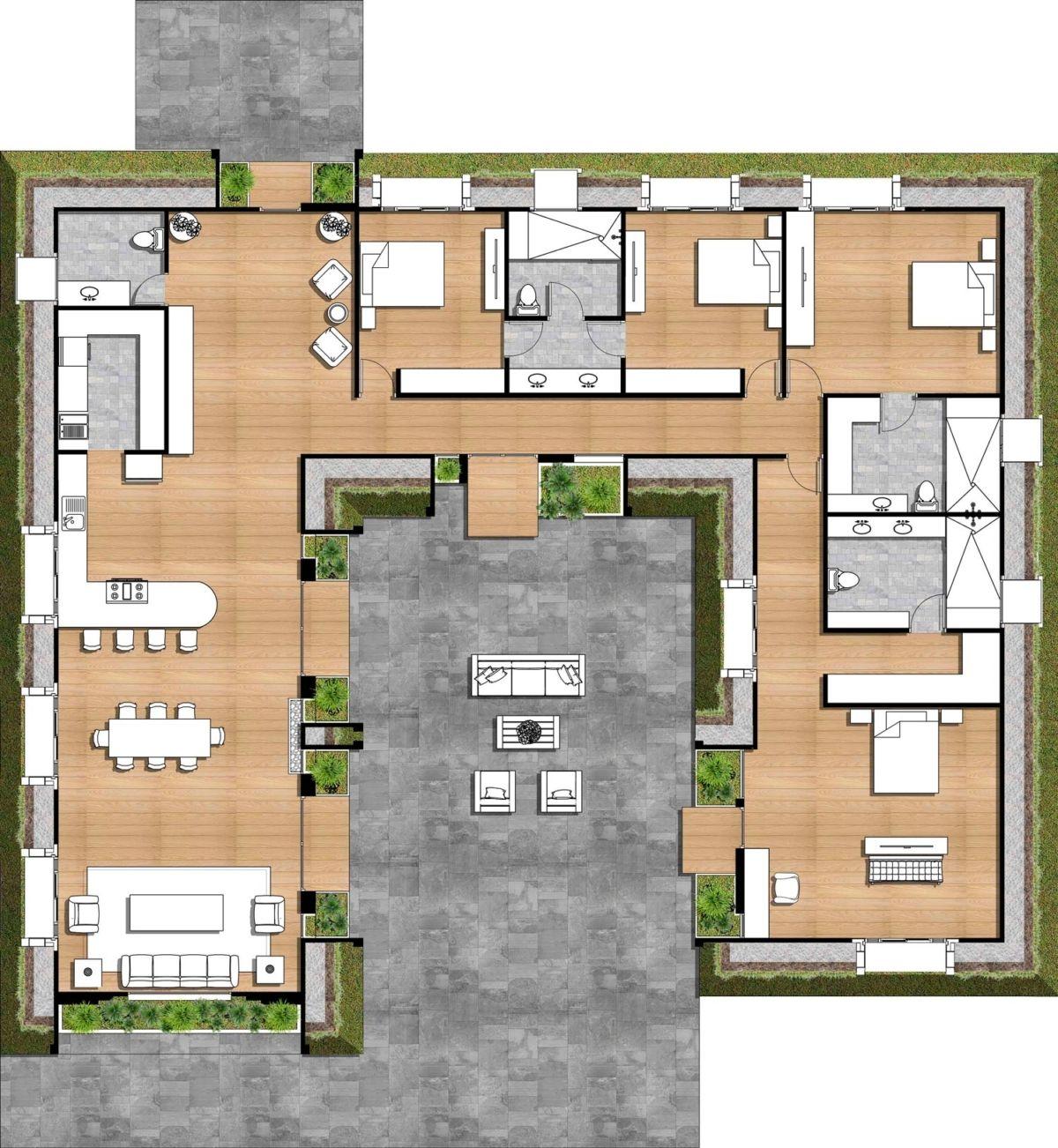 Green Magichomes Murano 4br Floorplancolor Green Magic Homes Passive Solar Design Solar Design