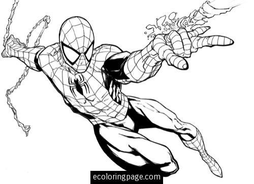 Ultimate Spiderman Coloring Pages Free Online Printable Sheets For Kids Get The Latest Images