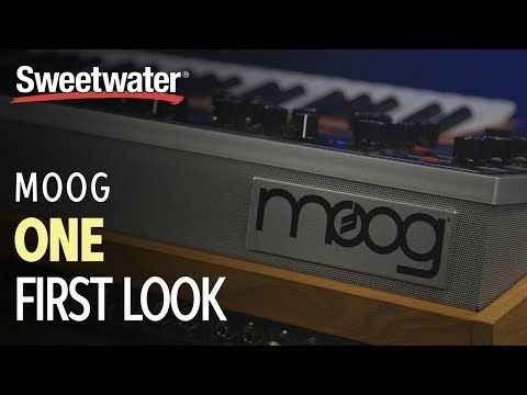 New video Moog One - First Look with Daniel Fisher