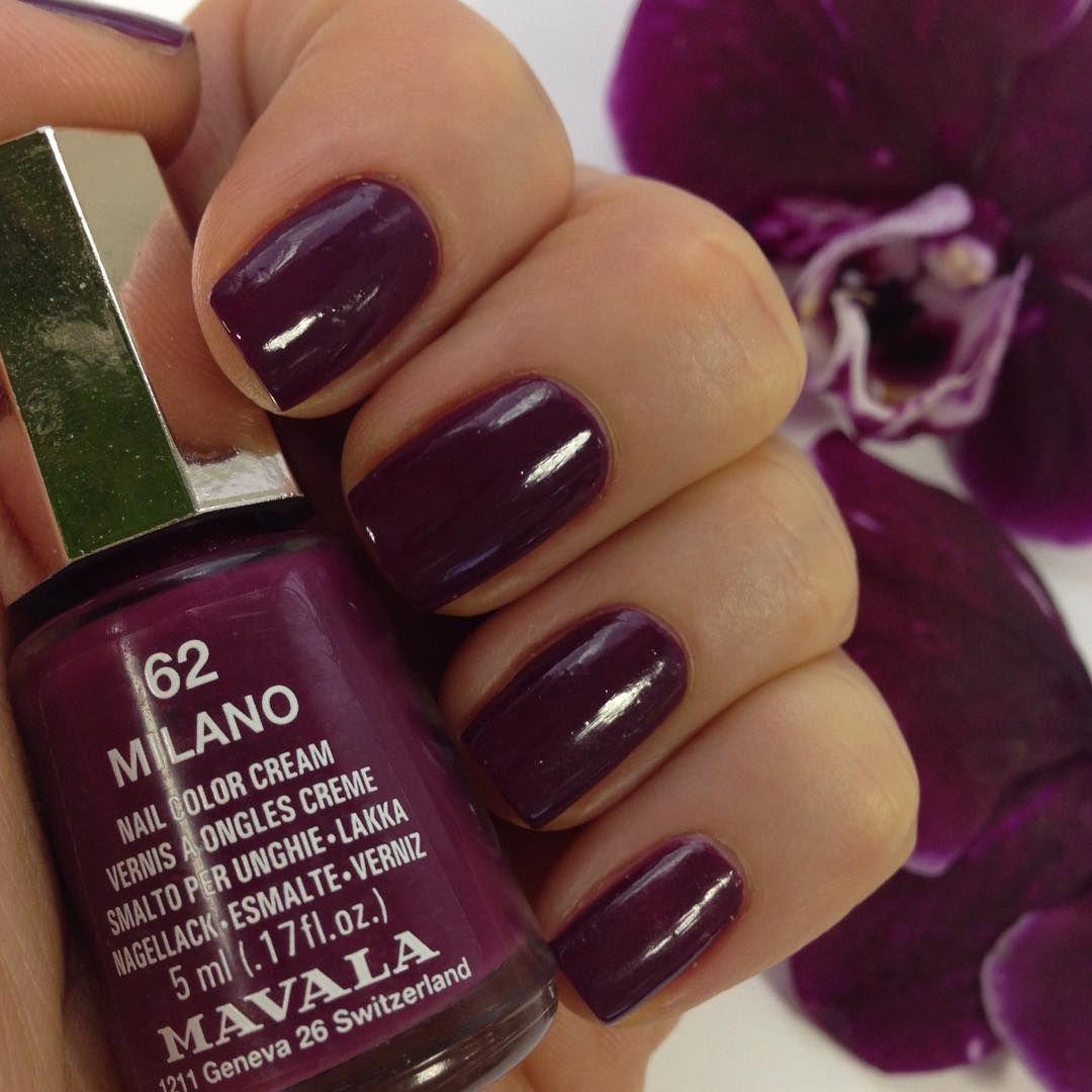 Milano Nail polish, Mavala nail polish, Nail colors