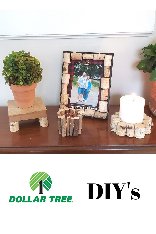 Rustic Dollar Tree DIY in 2020 Dollar tree diy, Diy