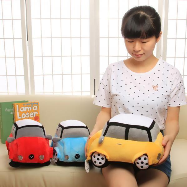 3d car pillow for kids beetle car plush toys gift idea