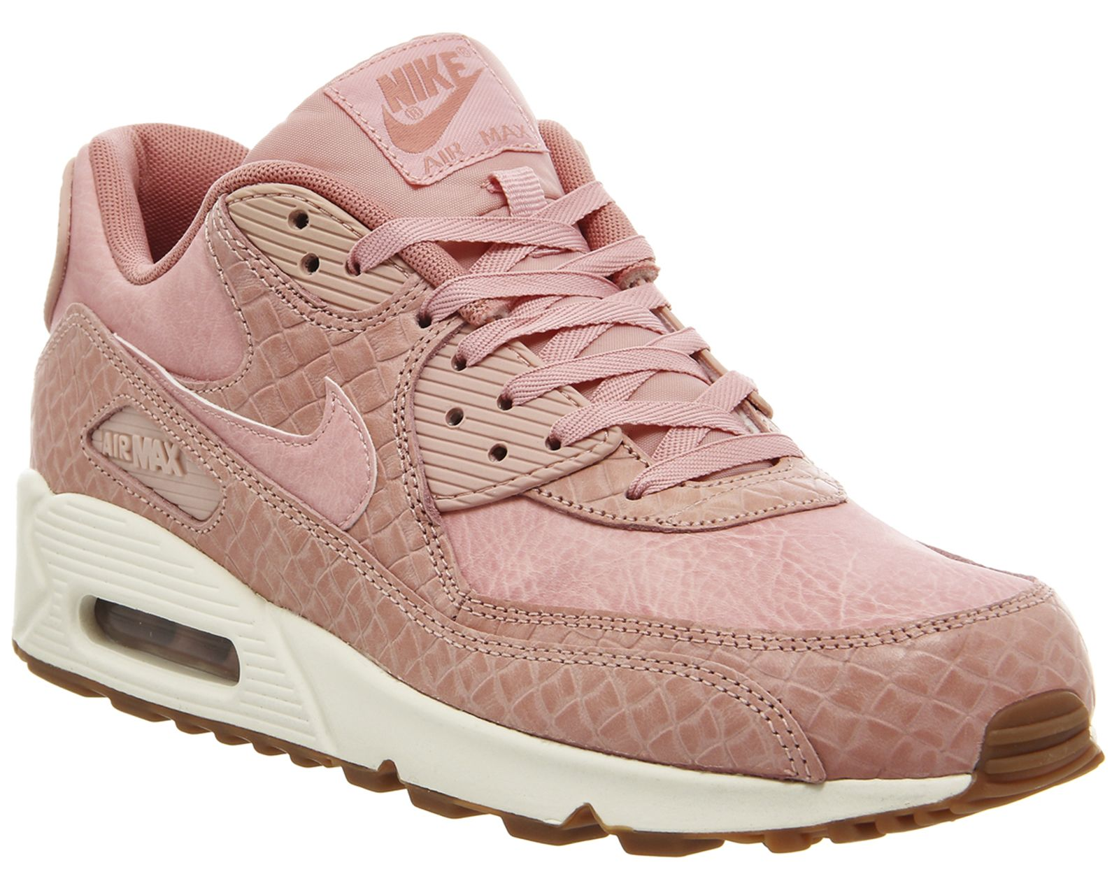 pretty nice 194b0 be9e1 Nike Air Max 90 Pink Glaze Basket Weave Gum