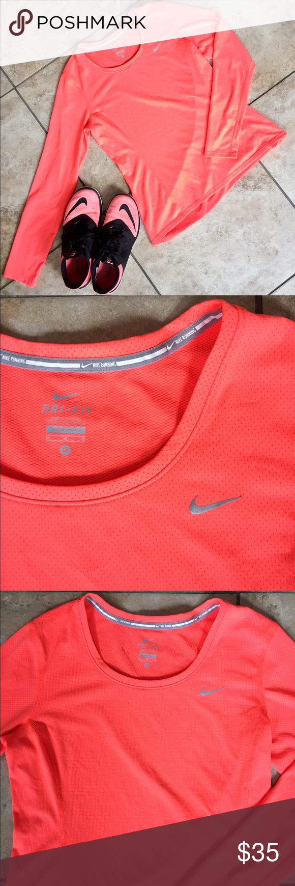Conditioning Nike Dri Fit Color Is Like A Neon Pink Orange